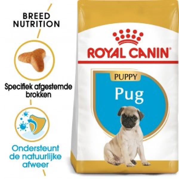 Royal Canin Suva hrana za pse Pug Puppy 1.5kg.