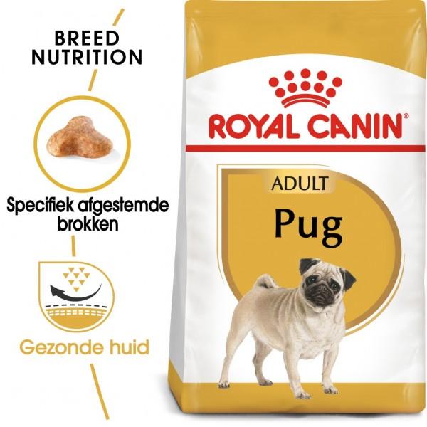 Royal Canin Suva hrana za pse Pug Adult 1.5kg.