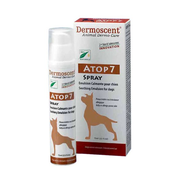 Dermoscent ATOP 7 for dogs - Sprej protiv svraba 75ml