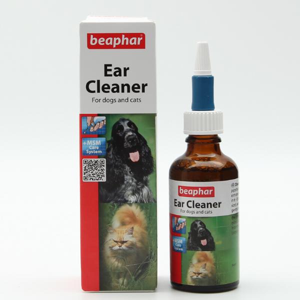 Beaphar Ear cleaner - Kapi za čišćenje ušiju pasa i mačaka 50ml