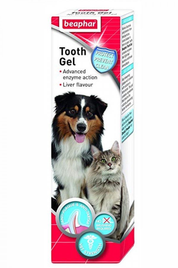 Beaphar Tooth gel  - Gel za pranje zuba pasa i mačaka 100gr