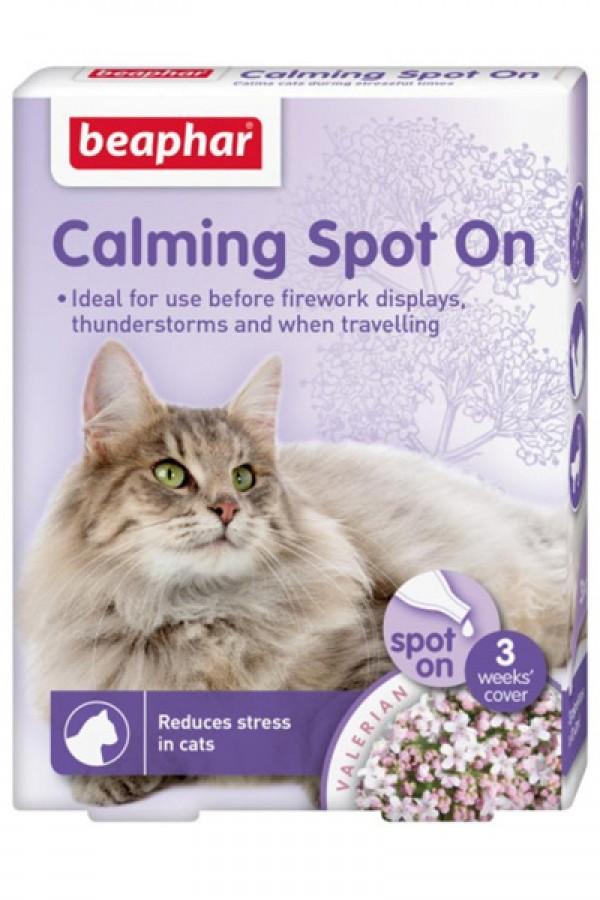 Beapar Calming spot on cat - Ampule za oslobadjanje stresa kod mačaka