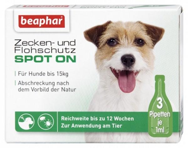 Beaphar Bio spot on dog S - Ampula za pse do 15kg, protiv buva, krpelja i komaraca