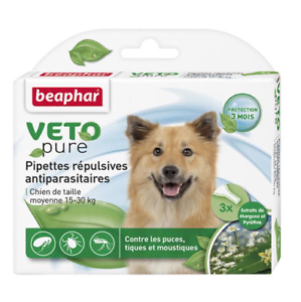 Beaphar Bio spot on dog M - Ampula za pse od 15-30kg, protiv buva, krpelja i komaraca