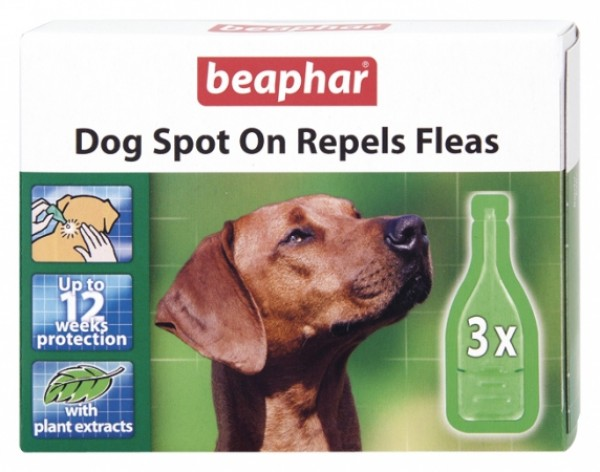 Beaphar Bio spot on dog L - Ampula za pse preko 30kg, protiv buva, krpelja i komaraca