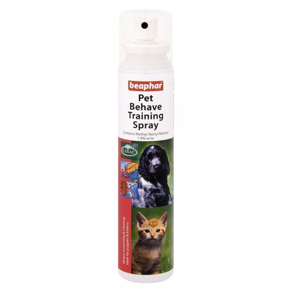 Beaphar Pet behave spray - Sprej za odvikavanje ljubimaca od neželjenih navika 125ml