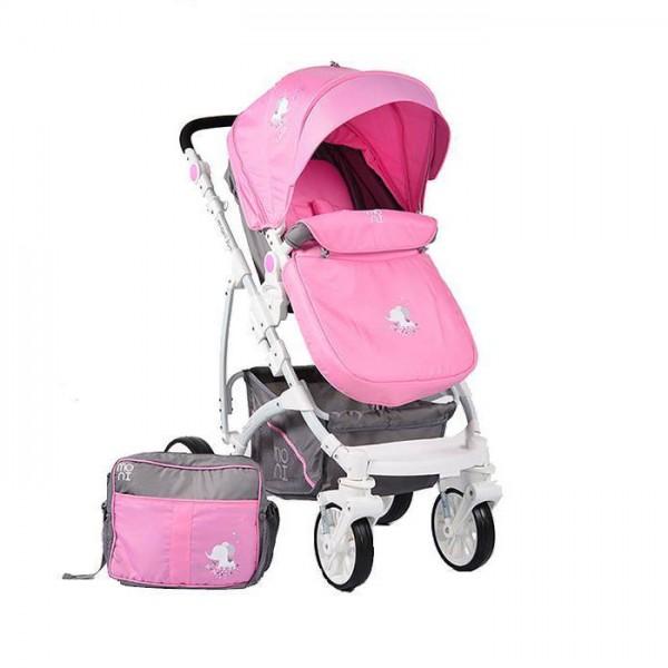 Kolica za bebe ''Tala''  Pink