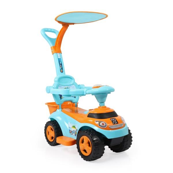 Dečija auto guralica ''Ocean'' sa tendom, plava