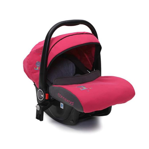 Auto-sedište, nosilljka za bebe  ''Stefanie'' Pink  0-13 kg