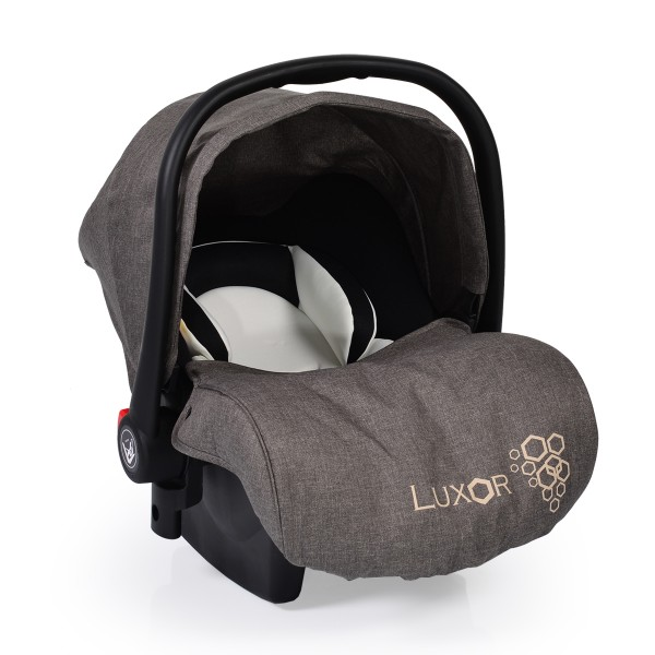 Auto-sedište, nosilljka za bebe sa adapterom  ''Luxor'' Siva  0-13 kg