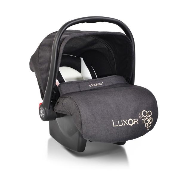 Auto-sedište, nosilljka za bebe sa adapterom  ''Luxor'' Crna  0-13 kg