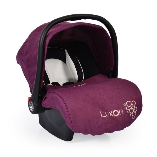 Auto-sedište, nosilljka za bebe sa adapterom  ''Luxor'' Ljubičasta  0-13 kg