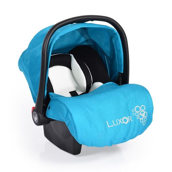 Auto-sedište, nosilljka za bebe sa adapterom  ''Luxor'' Tirkizna  0-13 kg