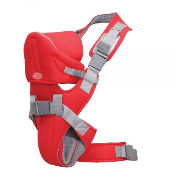 Kengur nosiljka za bebe ''Carry Go 2'' do 12 kg, Crvena