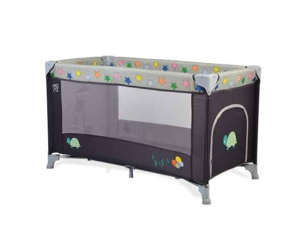 Prenosivi krevetac za bebe ''Safari'' sivi
