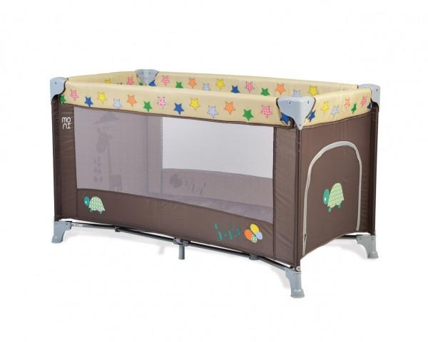 Prenosivi krevetac za bebe ''Safari'' braon