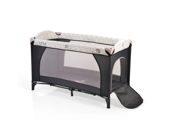 Prenosivi krevetac za bebe ''Star'' pink