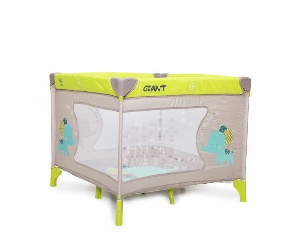 Prenosiva ogradica za bebe ''Giant'' žuta