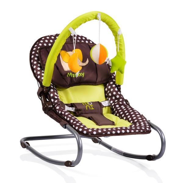 Ležaljka - Majčino krilo za bebe ''Manny'' Braon