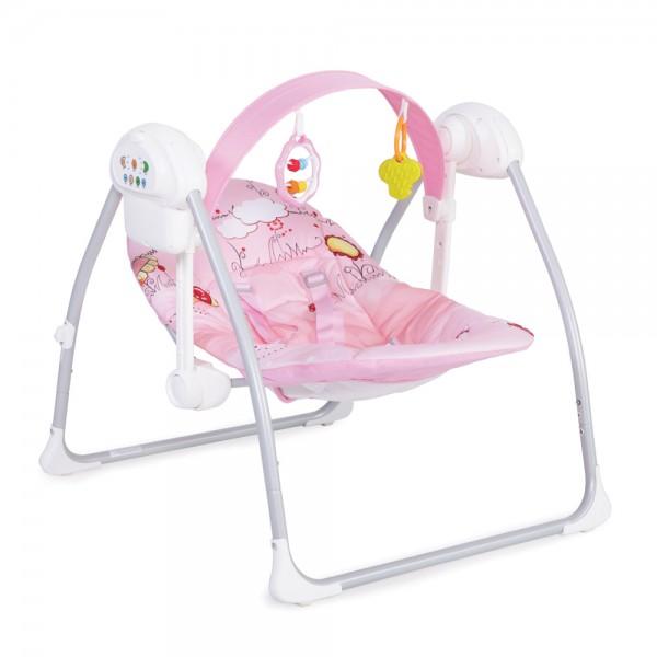 Ljuljaška - Majčino krilo za bebe ''Party'' Pink sa adapterom
