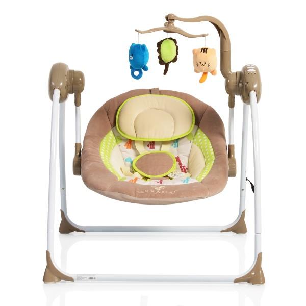 Ljuljaška - Majčino krilo za bebe ''Swing'' Cappuchino sa adapterom