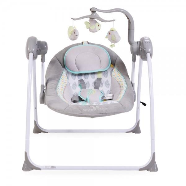 Ljuljaška - Majčino krilo za bebe ''Swing'' Siva sa adapterom