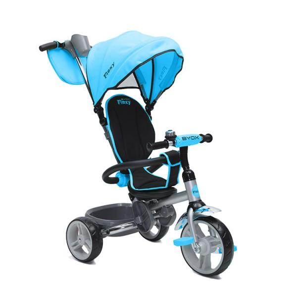 Tricikl-guralica za decu ''Flexy'' Plava
