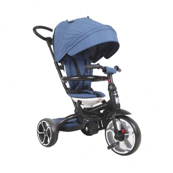 Tricikl-guralica za decu 6u1 QPlay ''Prime'' Plavi