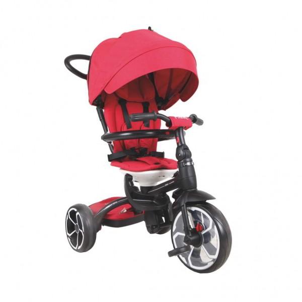 Tricikl-guralica za decu 6u1 QPlay ''Prime'' Crveni