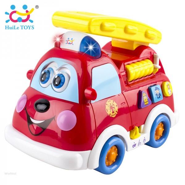 Igračka za decu Vatrogasni kamion, sa muzičkim i svetlosnim efektima