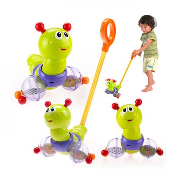 Igračka guralica za decu ''Swing Worm''