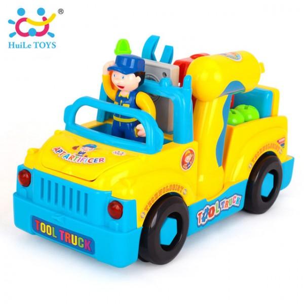 Igračka za decu Servisni Kamion, sa muzičkim i svetlosnim efektima