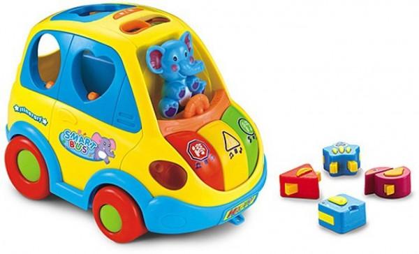 Igračka za decu Funny Bus sa muzičkim i svetlosnim efektima