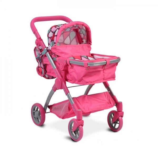 Kolica za lutke ''Vicky'' Pink