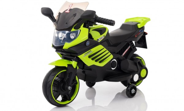 Dečiji motor na akumulator Model 116 Zeleni