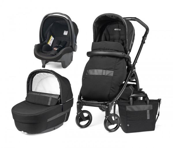 Kolica za bebe ''Modular Sistem Elite'' 3u1 Rock Black