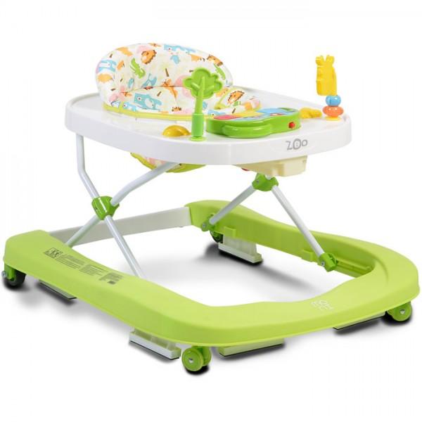 Dubak-guralica za bebe ''ZOO'' 2in1 Zelena