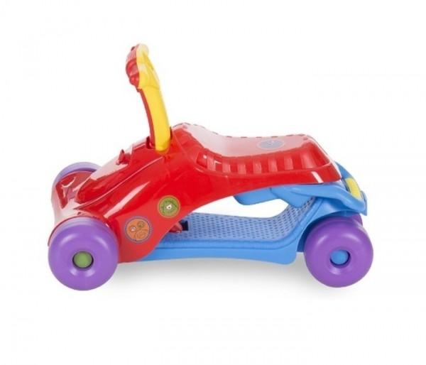 Guralica za decu ''Ride-On'' 3U1 Crveno-Plava