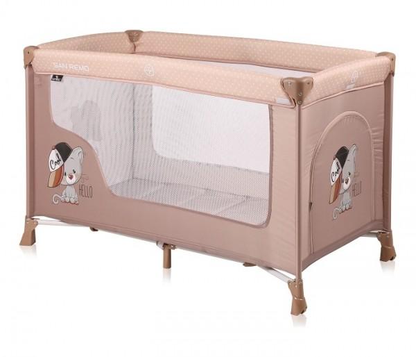 Prenosivi krevetac za bebe ''San Remo'' 1 Nivo Bež COOL CAT