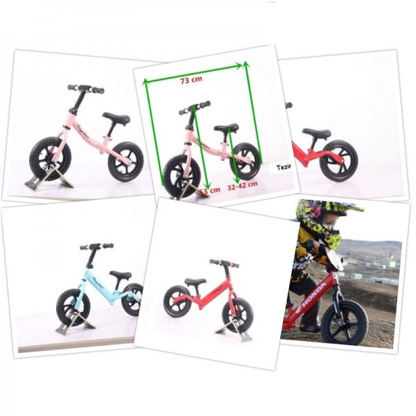 Bicikla za decu Balance bike 750 Srebrni
