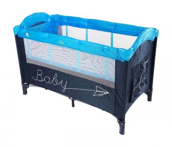 Prenosivi krevetac za bebe ''BBO'' 2 Nivoa Plavi