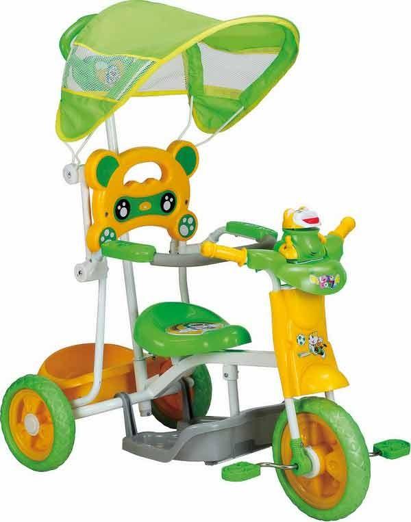 Tricikl za decu Zeleni TS341
