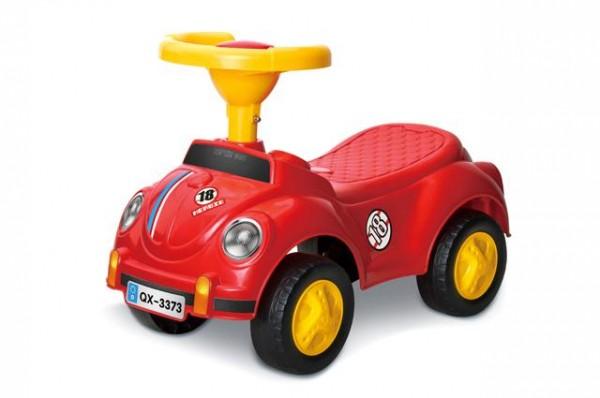Guralica za decu auto ''Buba'' Crvena