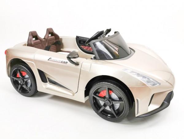 Dečiji automobil na akumulator Sport Model 244/1 Metalik - Zlatna