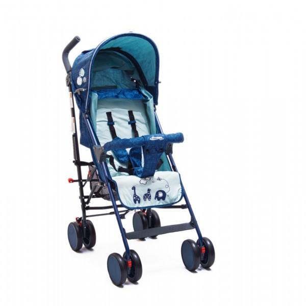 Kišobran kolica za bebe sa motivom oblaka, plava